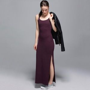 Lululemon Refresh Racerback Maxi Dress Bordeaux
